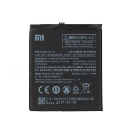 باتری شیائومی Battery Xiaomi Redmi 5A BN34