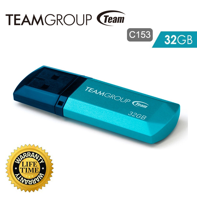 فلش مموری Flash memory USB2 برند Team Group مدل C153 ظرفیت ۳۲GB