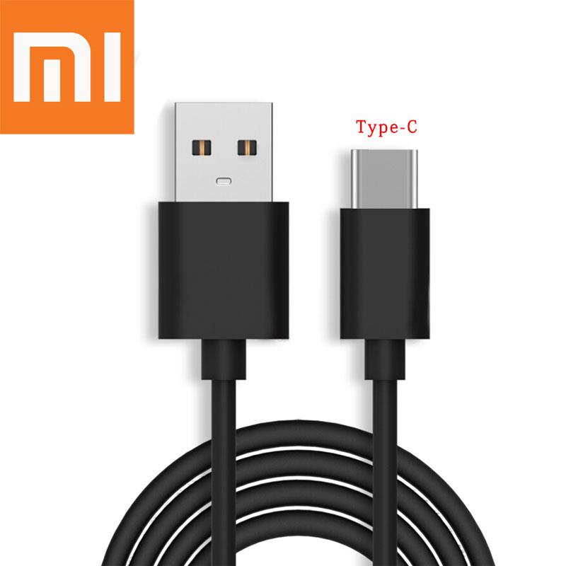 کابل شارژ اصلی Type-C برند Xiaomi شیائومی ۱۱۰سانتی متری