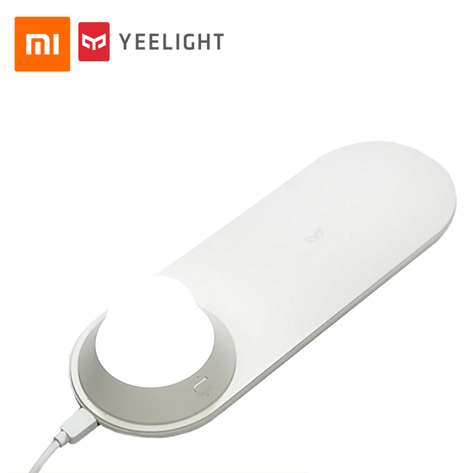 شارژر بی سیم لامپ دار ۱۰W شیائومی Xiaomi Yeelight Wireless charging night light YLYD04Yl