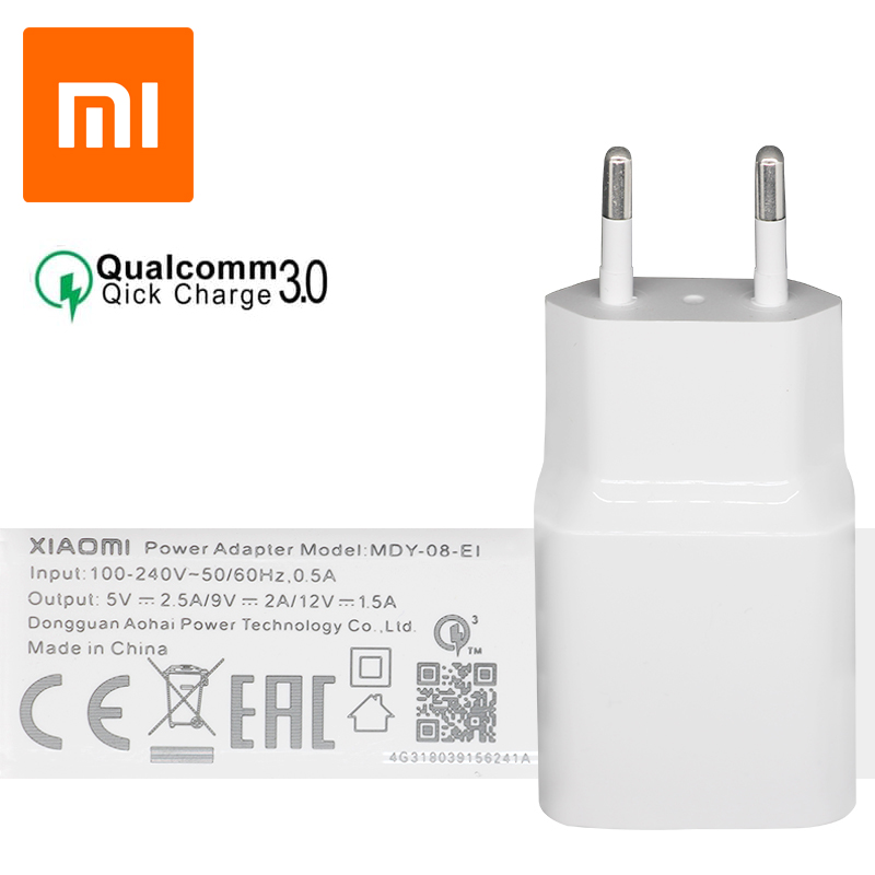 آداپتور شارژ سریع شیائومی Xiaomi Power Adapter Fast QC3.0
