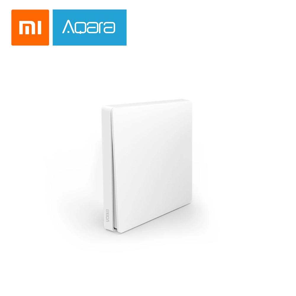کلید سنسور هوشمند یک پل بی سیم شیائومی آکارا Xiaomi Aqara wireless switch Wall single button