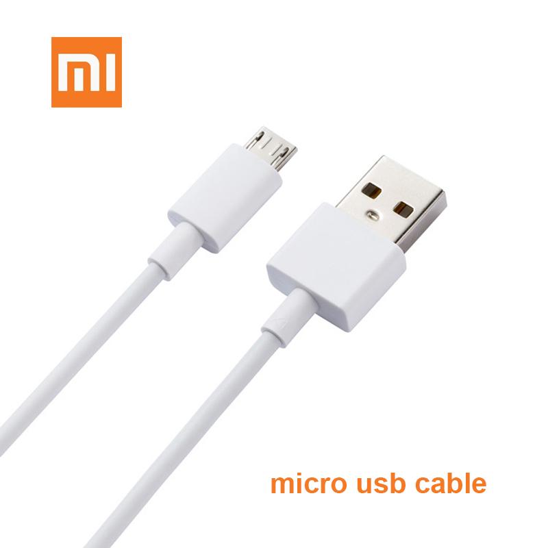 کابل شارژ اصلی Micro-USB برند Xiaomi شیائومی ۸۰سانتی متری