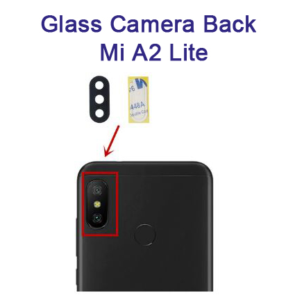شیشه دوربین Glass Camera Back Xiaomi Mi A2 Lite