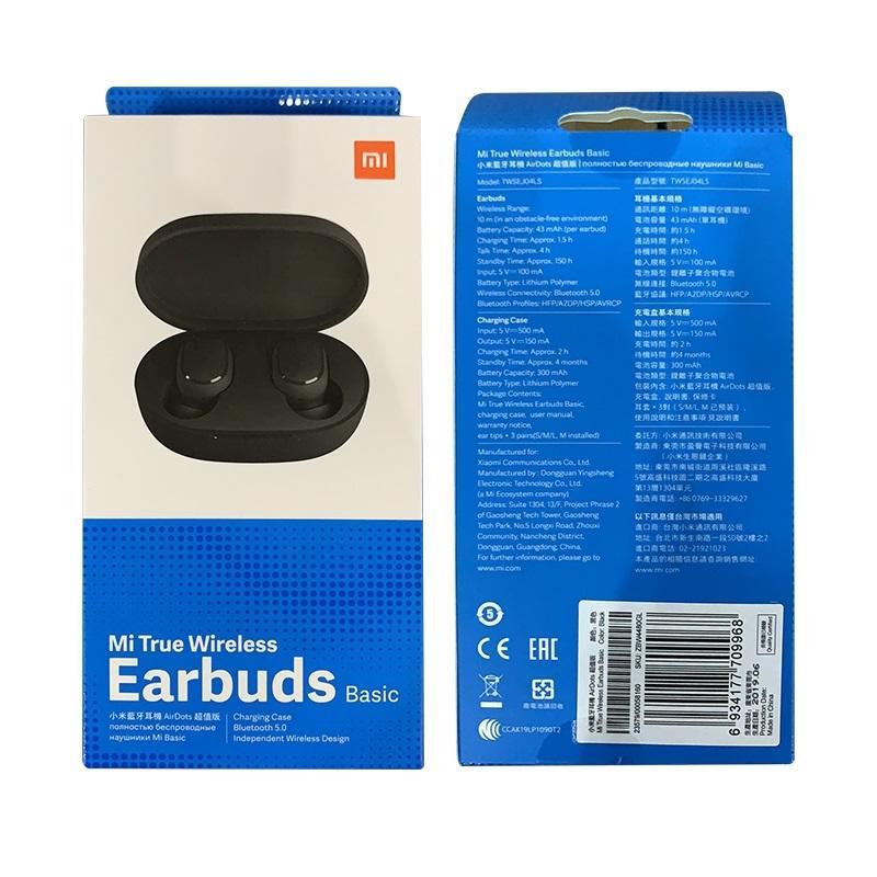 هدفون بی سیم دوتایی شیائومی Xiaomi Mi True Wireless Earbuds TWSEJ04LS نسخه گلوبال