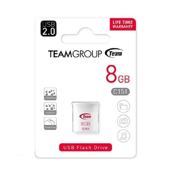 فلشMemory برندTeam Group مدلC151 ظرفیت8GB-USB2