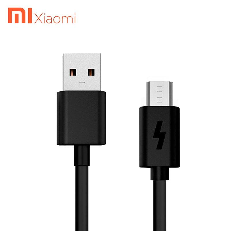 کابل شارژ اصلی Micro-USB برند Xiaomi شیائومی 120سانتی متری