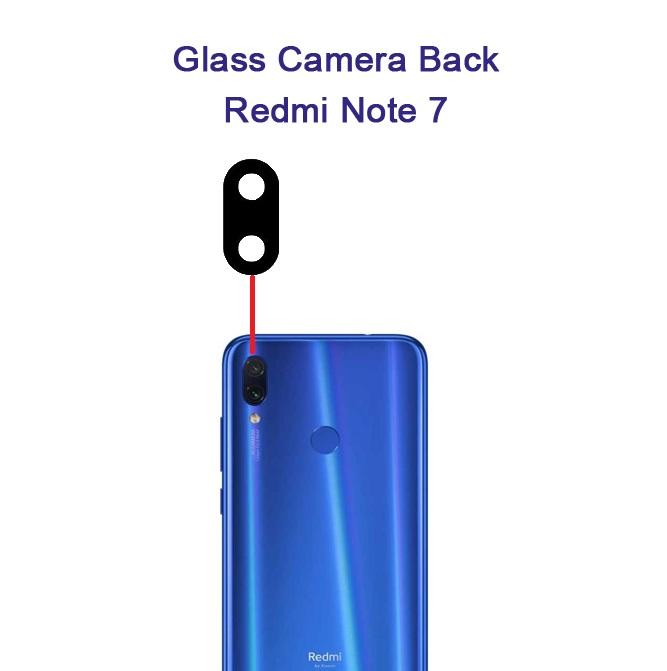 شیشه دوربین شیائومی Glass Camera Back Xiaomi Redmi Note 7
