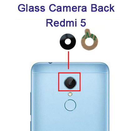 شیشه دوربین شیائومی Glass Camera Back Xiaomi Redmi 5
