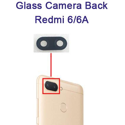 شیشه دوربین شیائومی Glass Camera Back Xiaomi Redmi 6 /6A