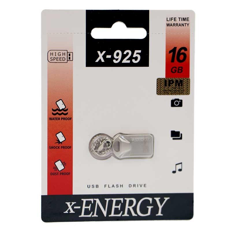 فلشUSB2-Memory برندX-Energy مدلX-925 ظرفیت۱۶GB