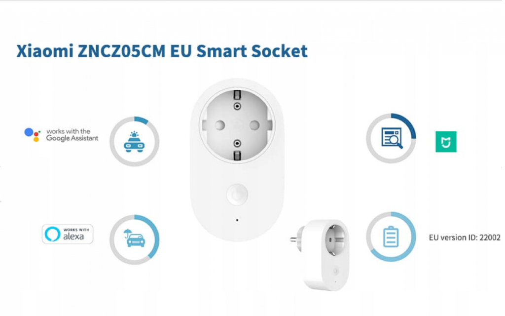 پریز برق هوشمند شیائومی (Mi Smart Plug (ZNCZ05CM