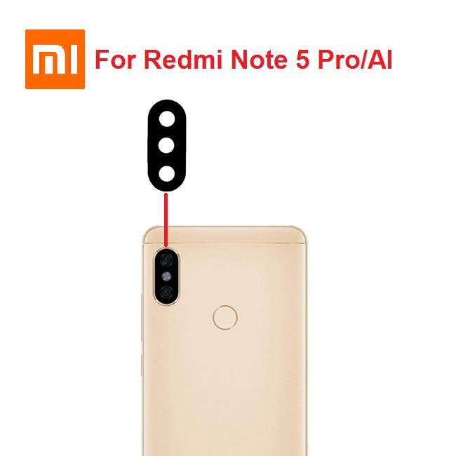شیشه دوربین شیائومی Glass Camera Back Xiaomi Redmi Note 5 Pro-AI