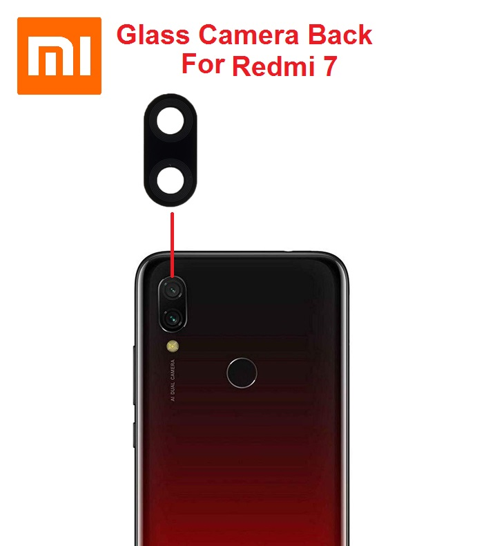 شیشه دوربین شیائومی Glass Camera Back Xiaomi Redmi 7