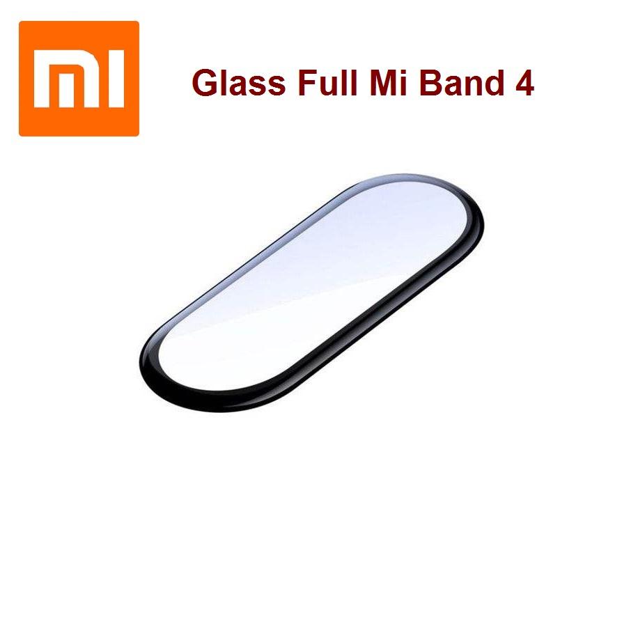 گلس تمام صفحه دستبند سلامتی Glass Full Mi Band 4