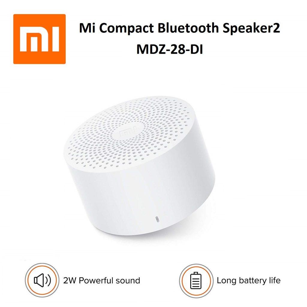 اسپیکر کوچک شیائومی Mi Compact Bluetooth Speaker 2گلوبال
