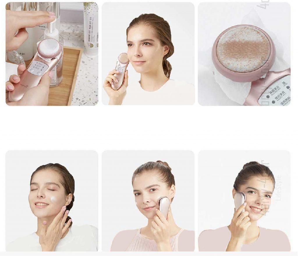 ابزار زیبایی و ترمیم پوست صورت Wellskins lon Cleaning Beauty Instrument  WX-NF209