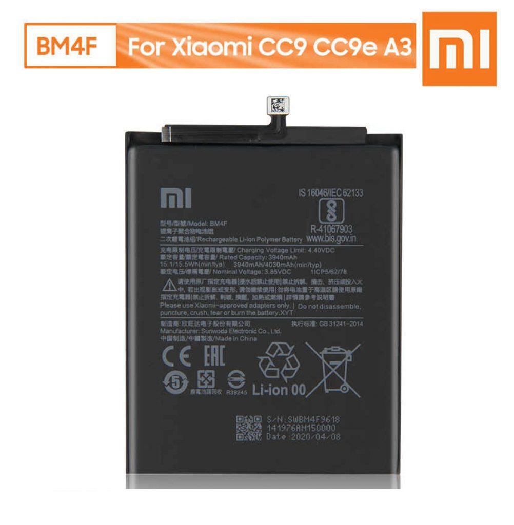 باتری شیائومی Battery Xiaomi Mi A3 Mi CC9e
