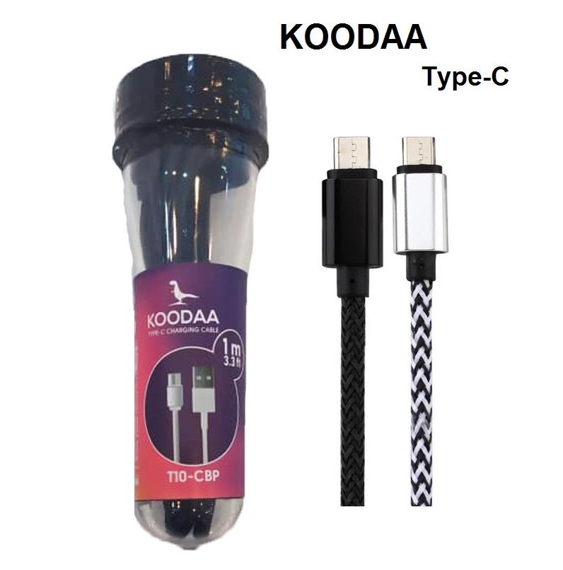 کابل شارژ اندروید برند کووداا KOODAA Type-C