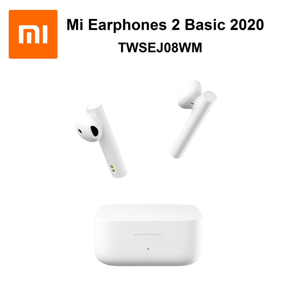 هدفون بی سیم دوتایی شیائومی Xiaomi Mi Earphones 2 Basic 2020 TWSEJ08WM