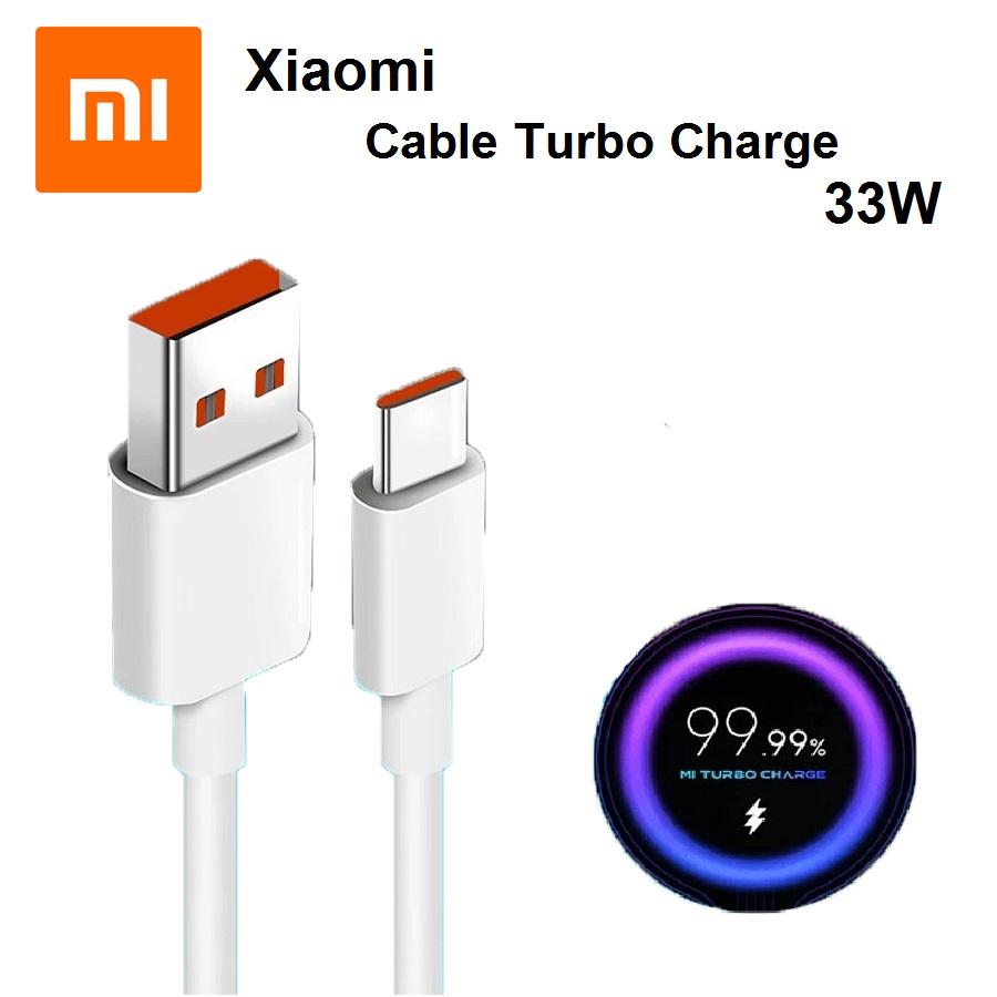 کابل توربو شارژ موبایل شیائومی Mi Cable Turbo Charge 33W